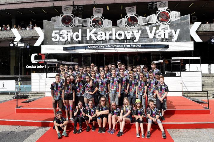 Soustředění KV 2018, hvězdy na červeném koberci
